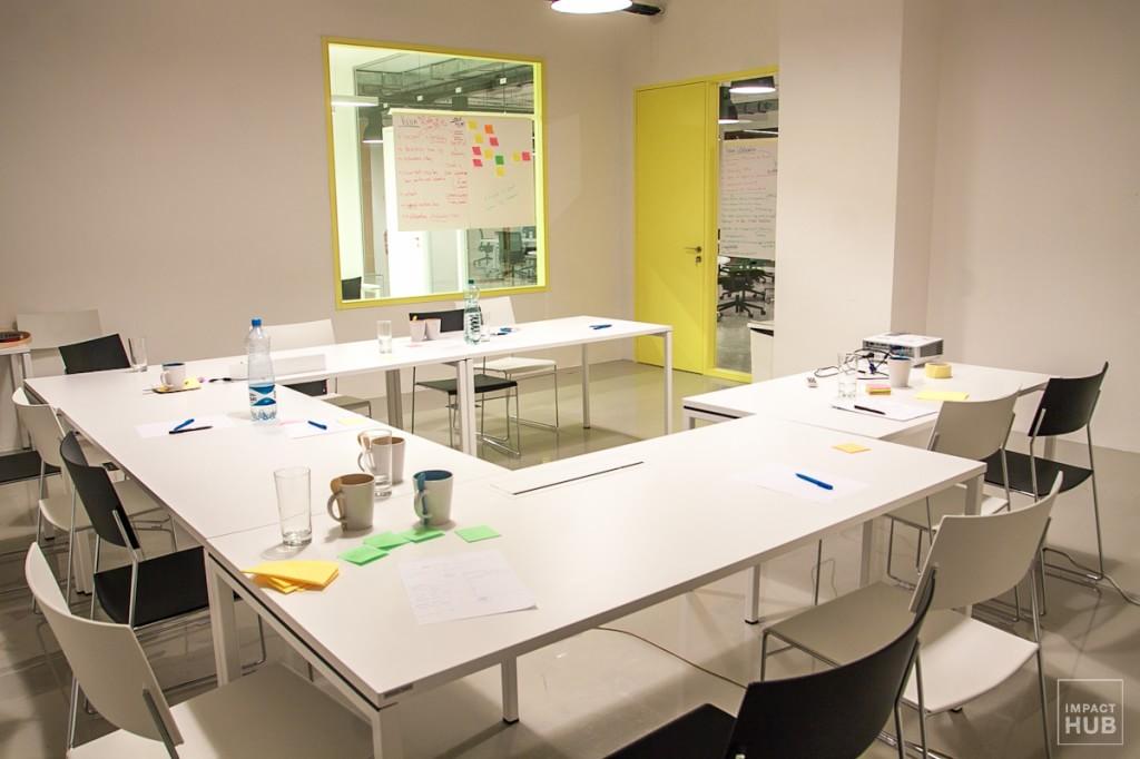 Impact HUB Bratislava meetingroom