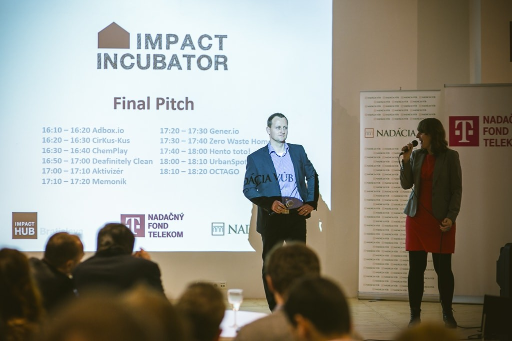 Impact Inkubátor Final Pitch Day