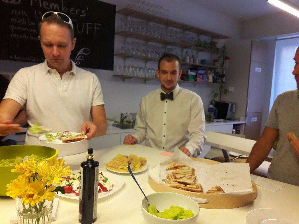 Members Breakfast Jan Januska
